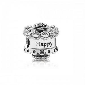 Charm en plata de ley Cumpleaños Feliz 791289 - 2391644