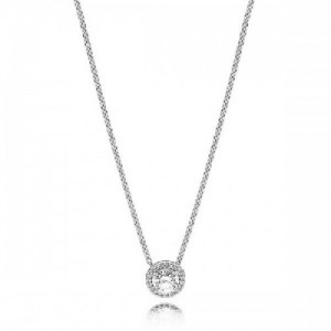 Collar en plata de ley Elegancia Clásica 396240CZ-45 - 2393215