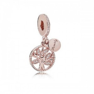 Charm colgante PANDORA Rose Herencia Familiar 781728CZ - 2393328