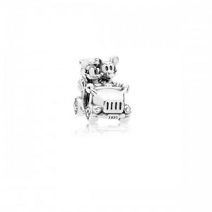 Charm de Minnie & Mickey Coche Vintage en plata de ley 797174 - 2393648