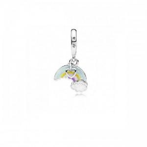 Charm colgante en plata de ley Arco Iris del Amor 797016ENMX - 2393727