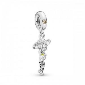 Disney Jessie silver dangle with golden  - 2393931
