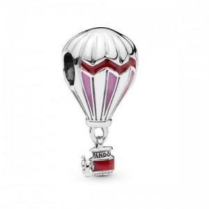 Charm en plata de ley Globo Aerostático Rojo 798055ENMX - 798055ENMX