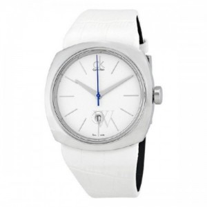 Calvin Klein Conversion Blanco Dial Mujer Watch K9721137 - 1660588