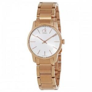 Calvin Klein Reloj Analógico para Mujer de Cuarzo con Correa en Acero Inoxidable K2G23646 - 1661043