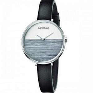 Calvin Klein Reloj Analogico para Mujer de Cuarzo con Correa en Cuero K7A231C3 - K7A231C3