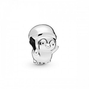 Charm en plata de ley Pingüino Navideño - 2394062