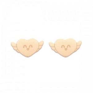 LOVE YOURSELF / STUD EARRINGS / ROSEGOLD - 0190465