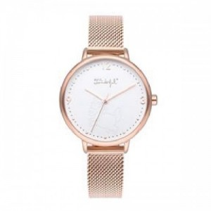 Reloj Mr. Wonderful WR10001 Mujer Esfera Blanca Metal - 0190511