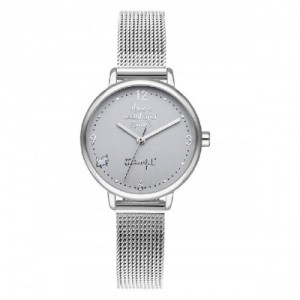 WATCH SHINE AND SMILE / SILVER&GREEN / M - 0190517