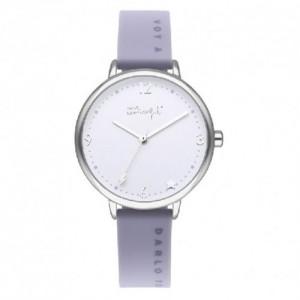 Reloj Mr. Wonderful WR40300 Mujer Esfera Gris Metal - 0190534