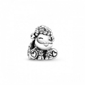 Sheep sterling silver charm - 2394208