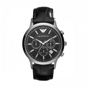 Emategorio Armani Fashion Negro Pulsera Cuarzo Reloj AR2447