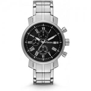Fossil Rhett Bq1000 - Reloj cronógrafo (acero inoxidable)