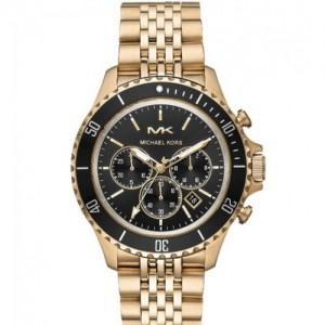 Reloj de hombre Michael Kors Bayville MK8726 de acero dorado