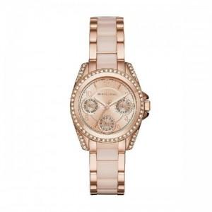 Michael Kors Reloj analogico para Mujer de Cuarzo con Correa en Acero Inoxidable MK6175