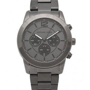 Michael Kors MK8479 reloj negro plomizo para hombre