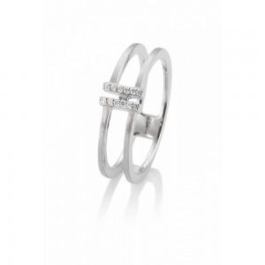 Anillo de oro y diamantes - 1950233