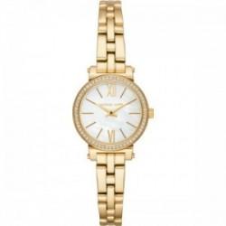 Reloj mujer clásico rosado 119